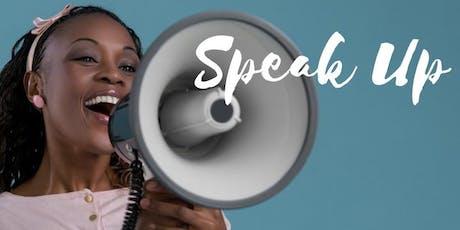 Women Speak Up! tickets