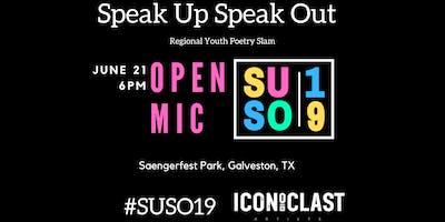 Open Mic - Speak Up Speak Out 2019