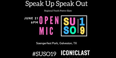 Open Mic - Speak Up Speak Out 2019 tickets