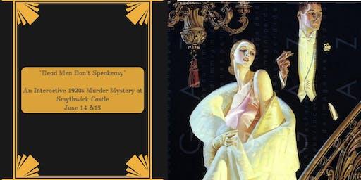 Murder Mystery | An Interactive 1920s evening at Smythwick Castle
