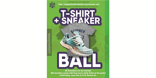3rd Annual Party with a Purpose: T-Shirt and Sneakers Edition