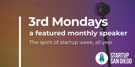 StartupSD 3rd Mondays - June 2019