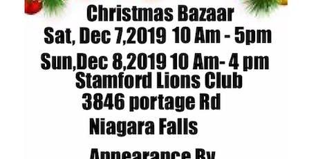 Christmas Bazaar tickets