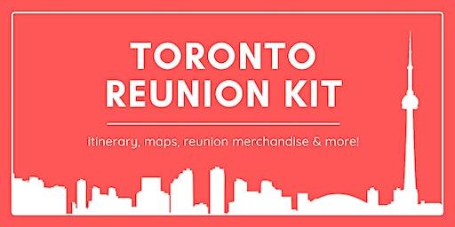 Toronto Reunion Kit