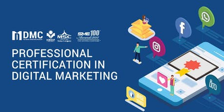 [Johor Bahru] Digital Marketing Professional Certification Program tickets