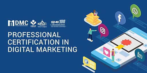 [Johor Bahru] Digital Marketing Professional Certification Program