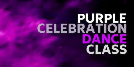 Purple Celebration Dance Class tickets