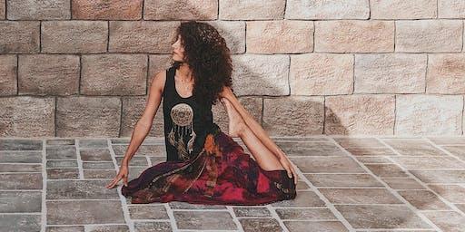 Sun Down Slow Down Yoga | @Crimson Chamber Studio