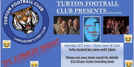 Turton FC Comedy Night