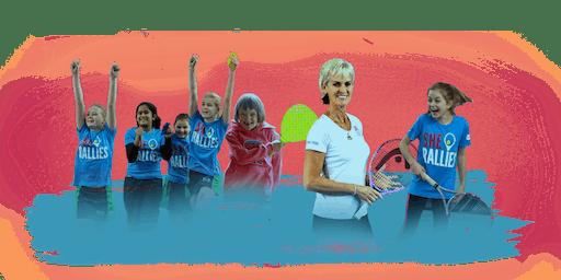 SHE RALLIES FUN Women and Girls Tennis Festival