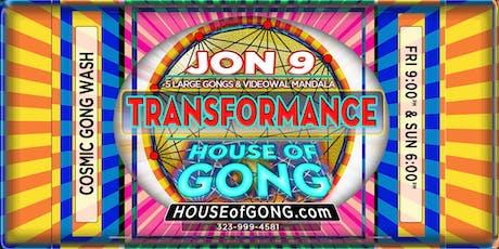 GONG TRANSFORMANCE - Experiential Healing Performance Art: GONGS + MANDALAS tickets