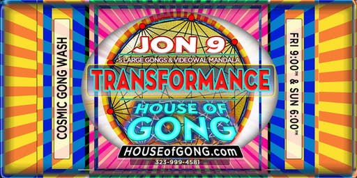GONG TRANSFORMANCE - Experiential Healing Performance Art: GONGS + MANDALAS