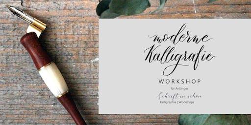 moderne Kalligraphie - Workshop für Anfänger