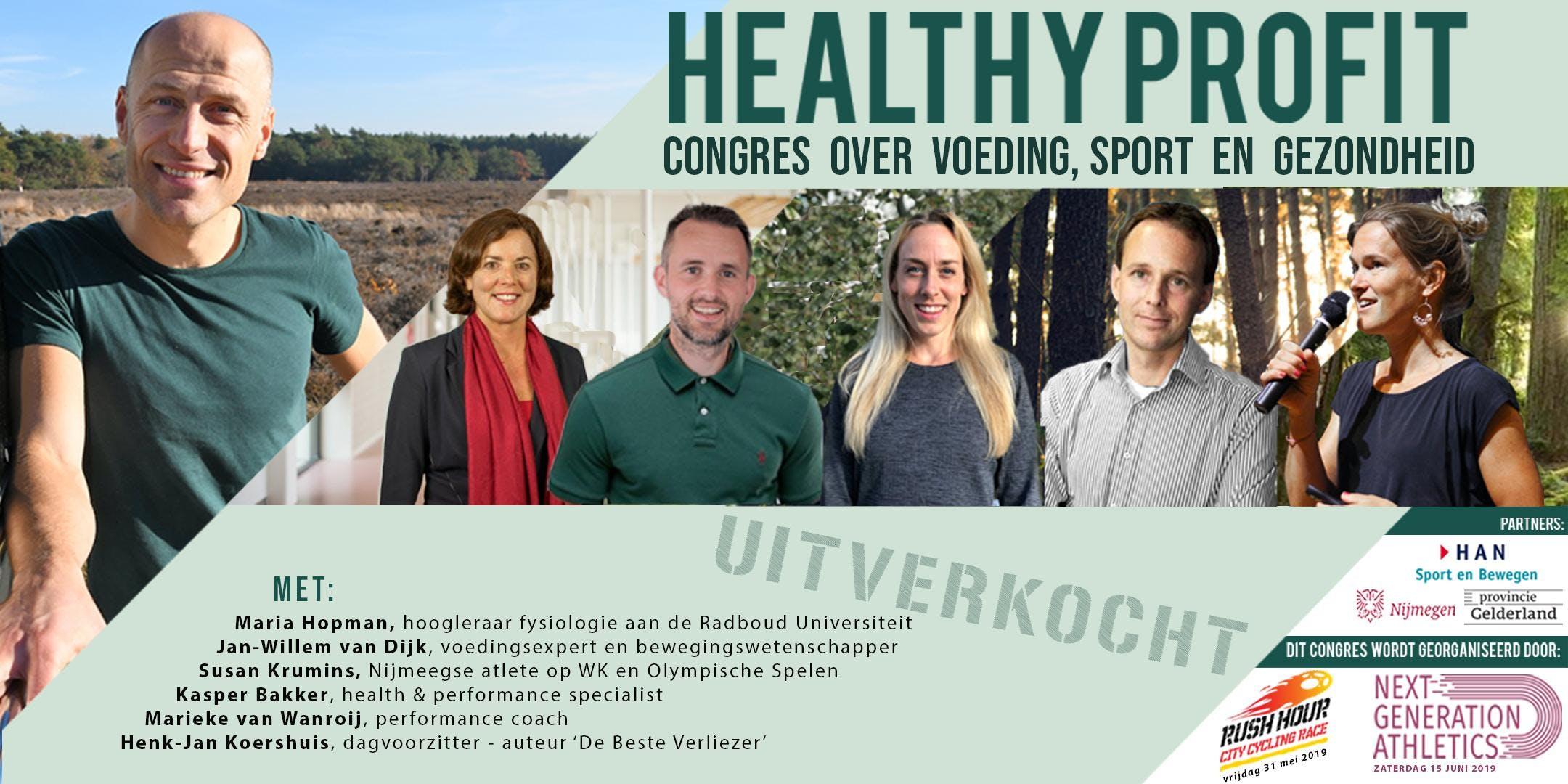 Healthy Profit | Congres over voeding, sport en gezondheid