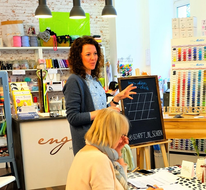 moderne Kalligraphie - Workshop für Anfänger: Bild