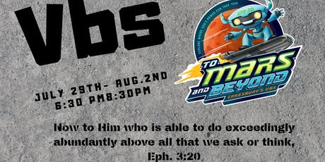 VBS - Vacation Bible School tickets