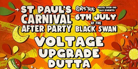 St Pauls Carnival afterparty The Black Swan tickets