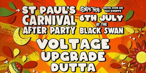 St Pauls Carnival afterparty The Black Swan