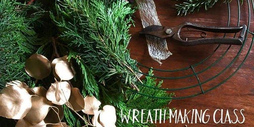 Totnes Christmas Wreath Making Workshop.
