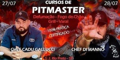 Curso de Pitmaster-Fogo de chão-Grill-Varal