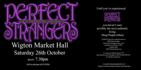 Perfect Strangers Deep Purple Tribute Show tickets