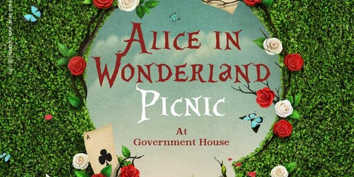 Alice in Wonderland Picnic in the Park Guernsey