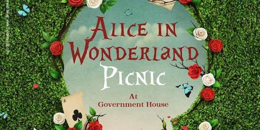 Alice in Wonderland Picnic in the Park Guernsey