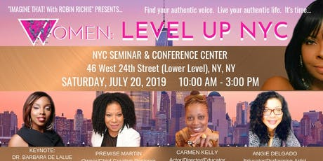 WOMEN: LEVEL UP NYC (A Women's Empowerment Symposium) tickets