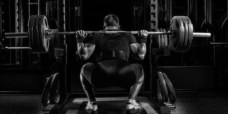 LEG DAY- 10 Trainingseinheiten Kniebeugen an einem Tag  Tickets