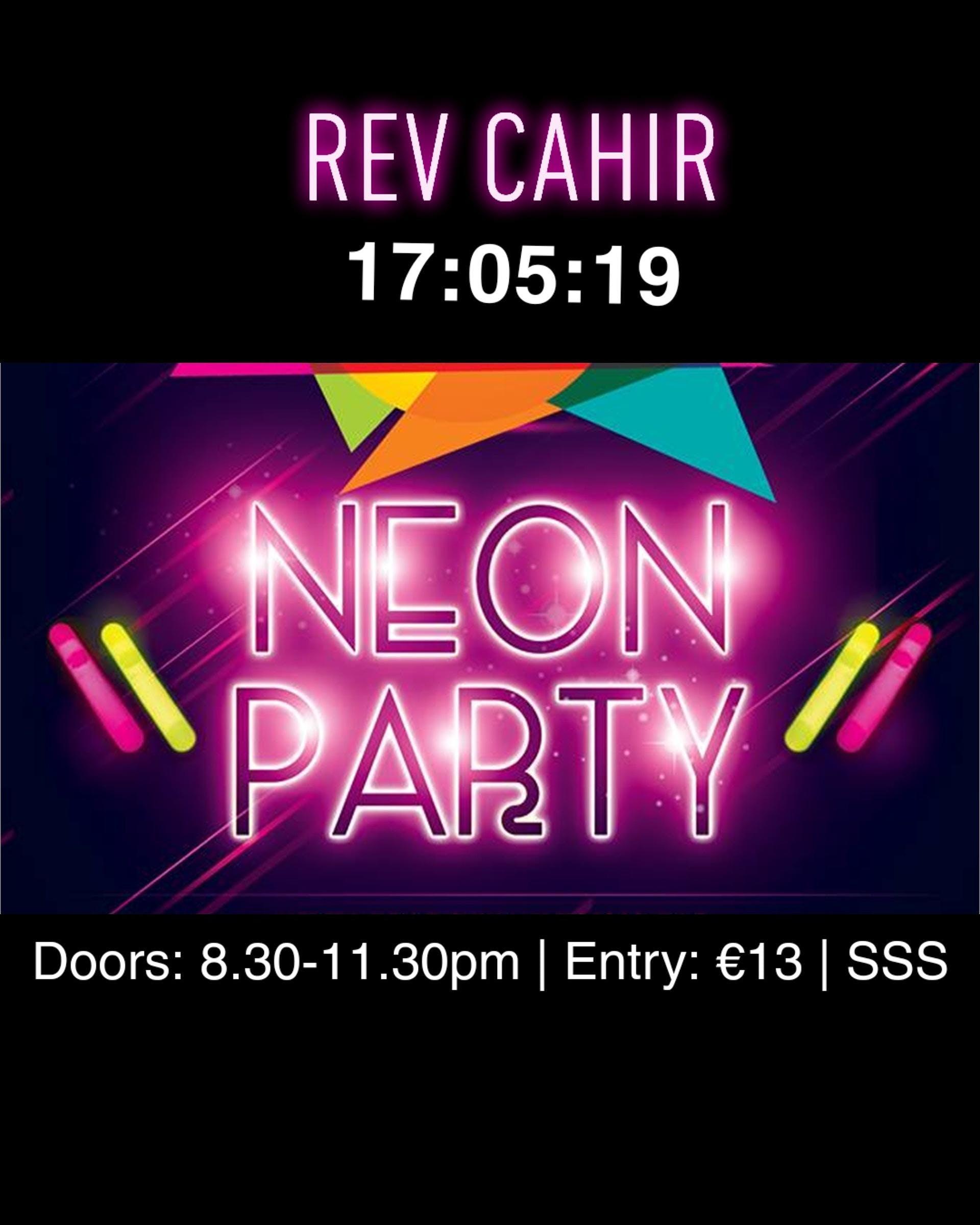 Rev Cahir UV Glow 2020 New Years Disco Tickets, Sat, Jan