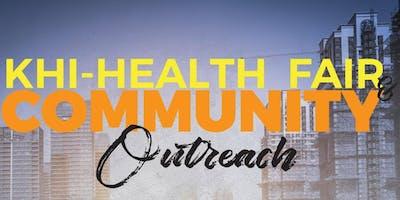 CFFC KHI Health Fair & Community Outreach