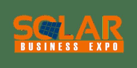 Solar Business Expo 2020 - Abuja  tickets