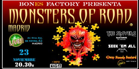 MONSTERS OF ROAD MADRID tickets