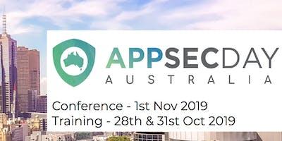 OWASP AppSec Day Training Courses 2019