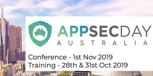 OWASP AppSec Day Training Courses 2019