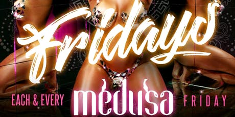 FREE VIP/ Birthday SECTION Stone Cold SATURDAYS @ Medusa Lounge tickets