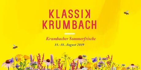 Klassik Krumbach Tickets