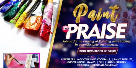 Paint and Praise Night tickets