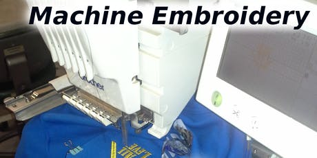 Intro to Machine Embroidery tickets