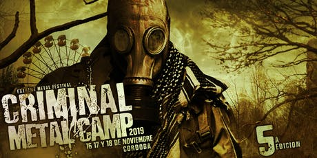 CRIMINAL METAL CAMP 2019 entradas
