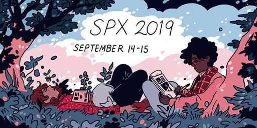SPX 2019 September 14 11am-7pm & September 15 Noon-6pm
