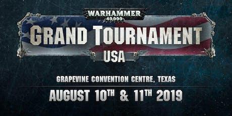 Warhammer 40,000 Grand Tournament USA tickets