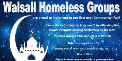 Walsall Homeless Groups Community Iftar