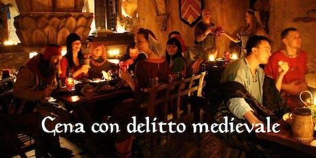 Cena con delitto a Copparo in antica osteria del 1500 biglietti