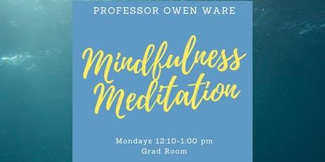 Mindfulness Meditation with Professor Owen Ware tickets