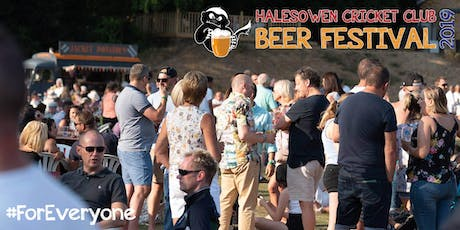 Halesowen Cricket Club Beer Festival 2019 tickets