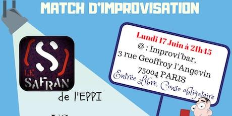 Match d'improvisation tickets
