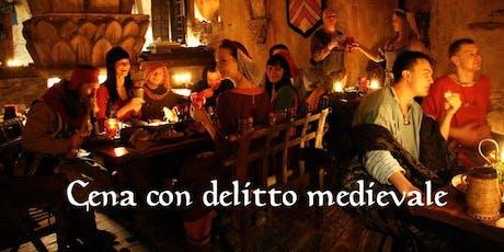 Cena con delitto storica del 1500 all'antica Trattoria biglietti