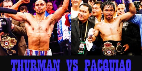 PPV Pacquiao vs Thurman New Orleans Watch Party tickets