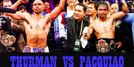 PPV Pacquiao vs Thurman New Orleans Watch Party